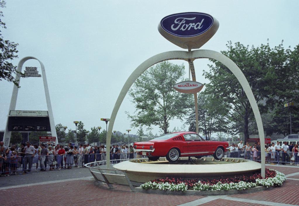 The Mustang's big debut.