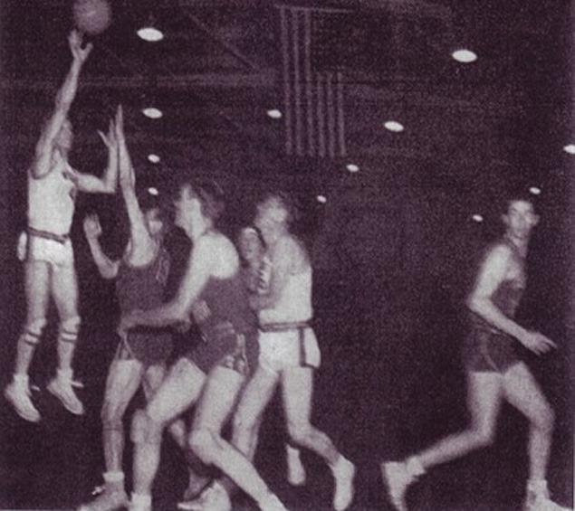 Kenny Sailors' jump shot