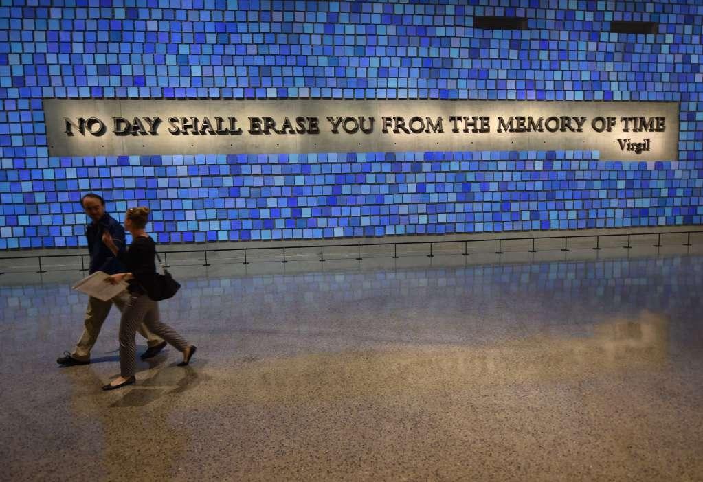 'No day shall erase you'
