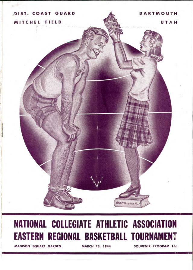 NCAA Championship souvenir program